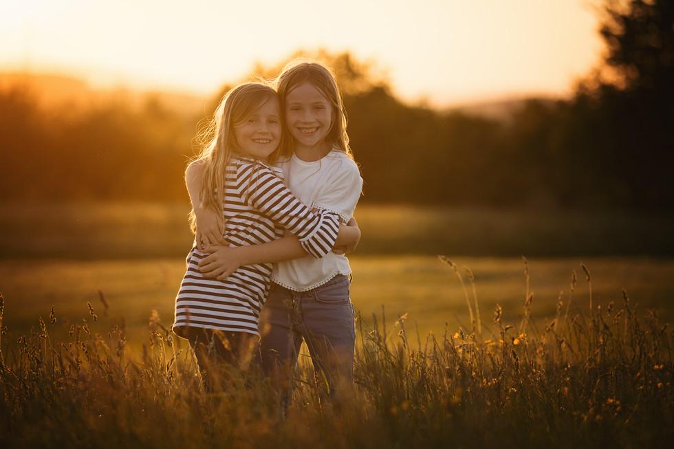 Familienfotografie, Kind, Natur, Foto, lachen, Geschwister