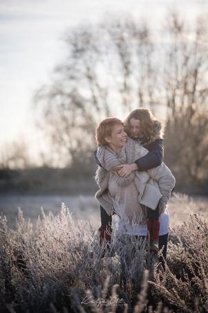 Familienfotografie, Kind, Natur, Foto, lachen, Winter