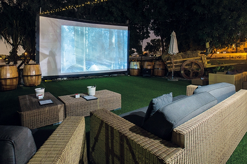 Private Indoor Movie Party