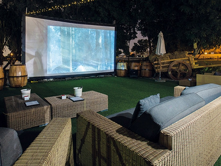 Backyard Fun Ideas for Artificial Turf: The Outdoor Theater