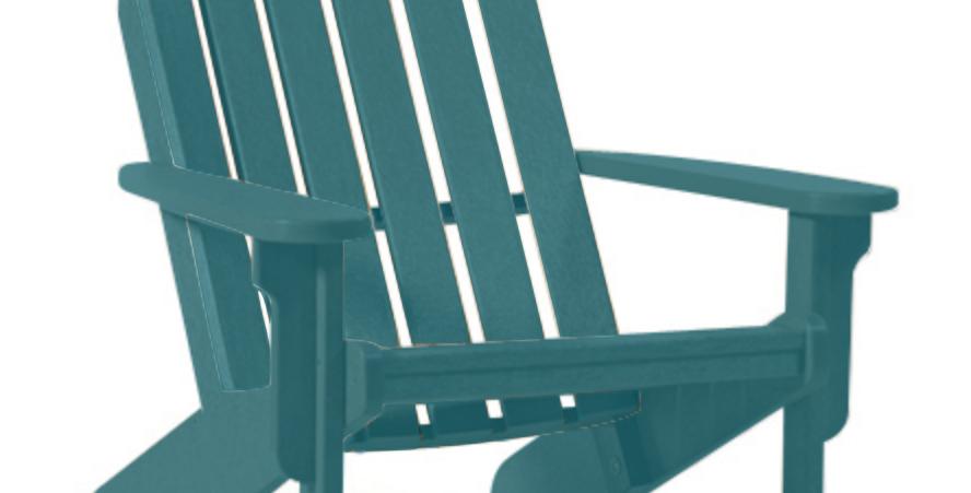 Shoreline Adirondack Chair: Lagoon