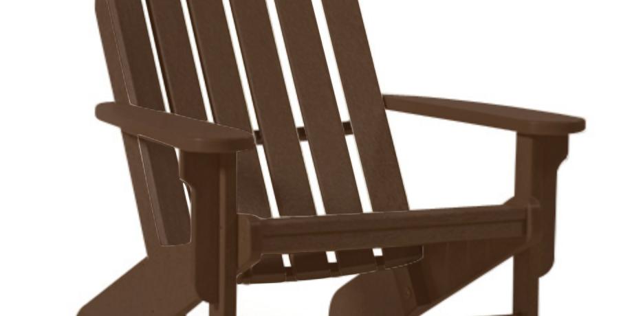 Shoreline Adirondack Chair: Mocha