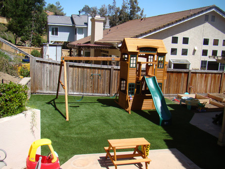 5 Reasons Parents Are Installing Artificial Playground Turf Systems in the Backyard