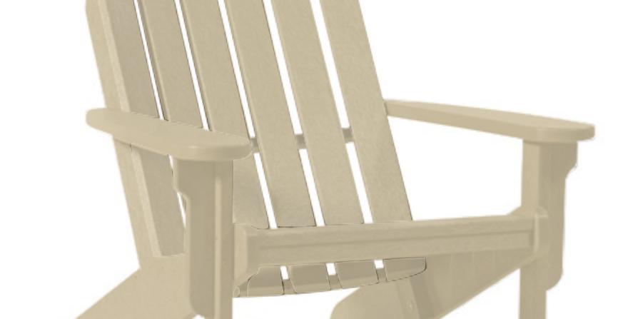 Shoreline Adirondack Chair: Sandstone