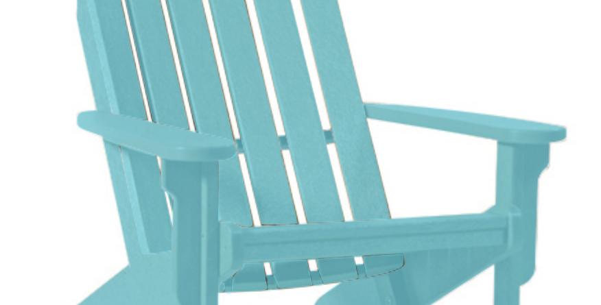 Shoreline Adirondack Chair: Seafoam