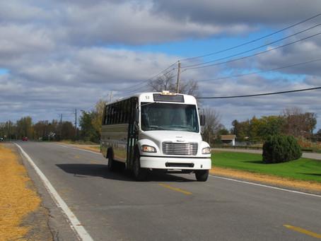 Autobus - circuits régionaux