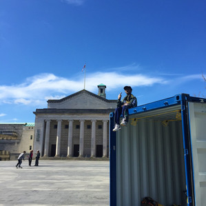 WAYNE in DOCKED, Guildhall Square, Southampton, 2019