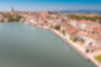 Vue du grand bassin de Castelnaudary