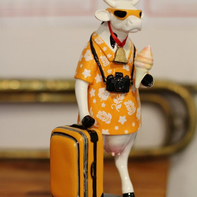Vaca en vacances
