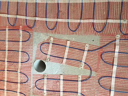 how to install underfloor heatig