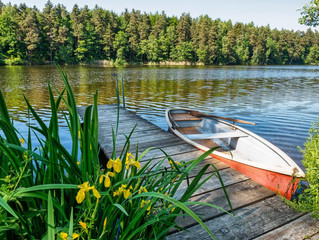 Прогулка по реке Пра на лодке!