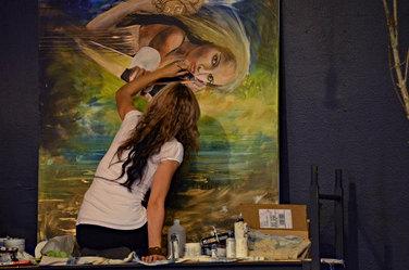 Painting Wide Awake