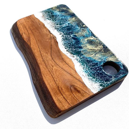 Live edge ocean board