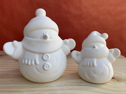 Jolly snowman medium