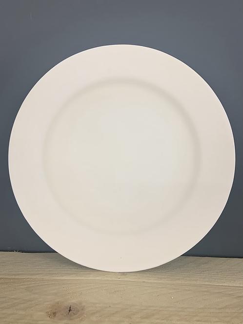 25cm rimmed plate