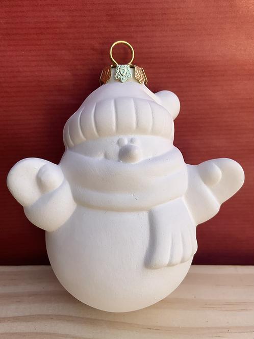 Snowman bauble