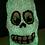 Thumbnail: Glow in the dark Foam Clay Skull