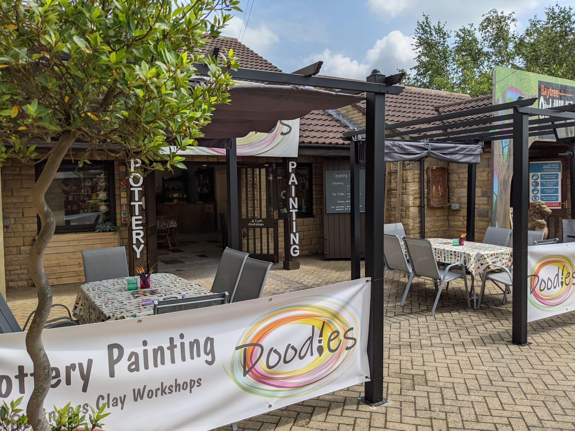 Outdoor Studio Painting