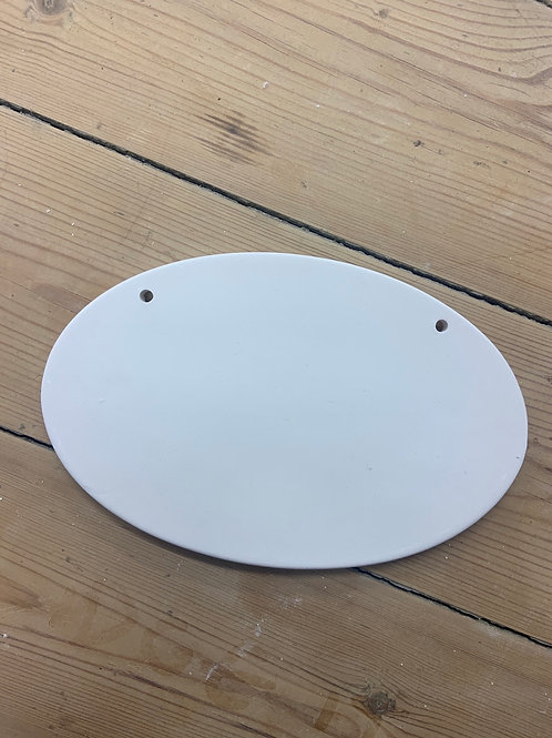 Oval Wall Plaque