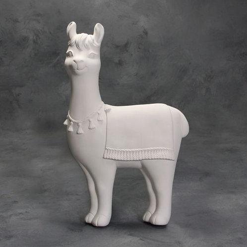 Llama Wall Plaque