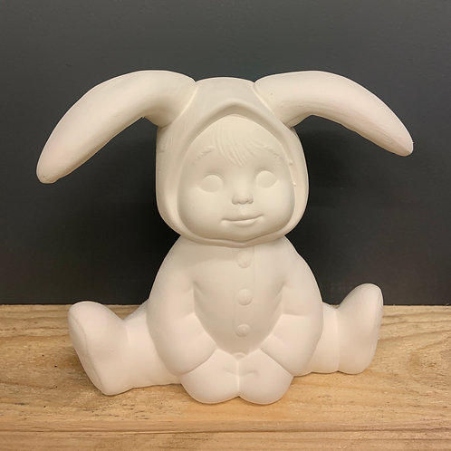 Bunny tot sitting