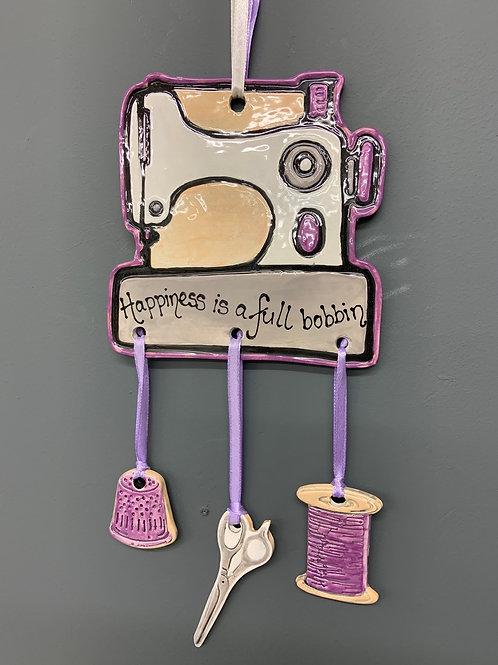 Sewing box hanger