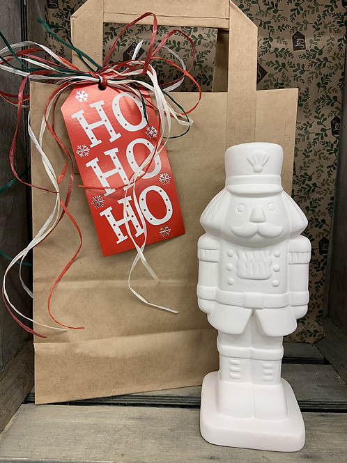 Nutcracker foam clay craft bag