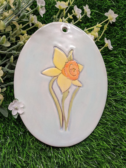 Daffodil Wall plaque