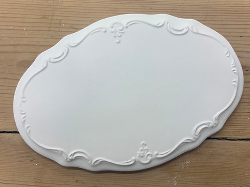 Pretty Oval Wall Plaque