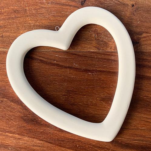 Heart Outline Hanger