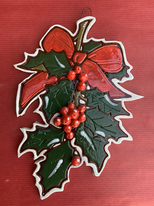Large Holly hanger
