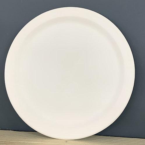 25cm edged plate
