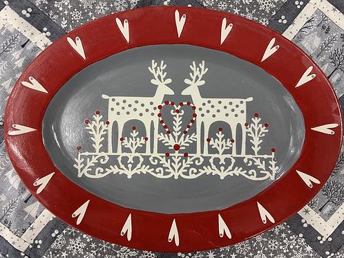 Scandi platter - Christmas project