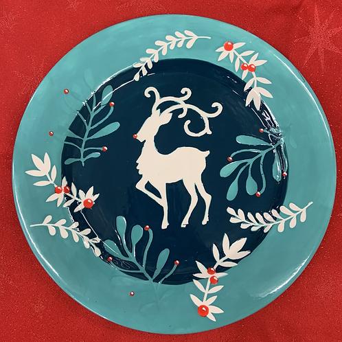 Deer Plate - Christmas project