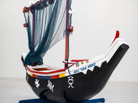 ABEBUU ADEKAI: Les objets d'art funéraire du Ghana