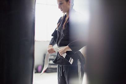 Jujitsu Man Training