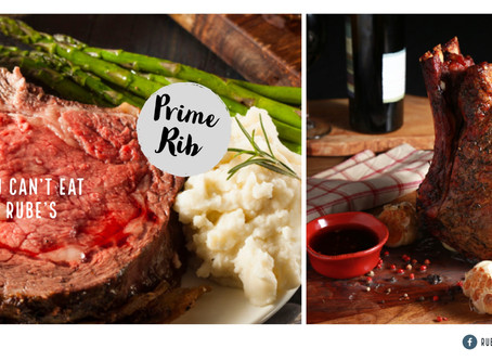Why you can't get Prime Rib at Rube's Steakhouse