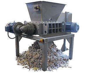 Dual Shaft Shredder Output.JPG