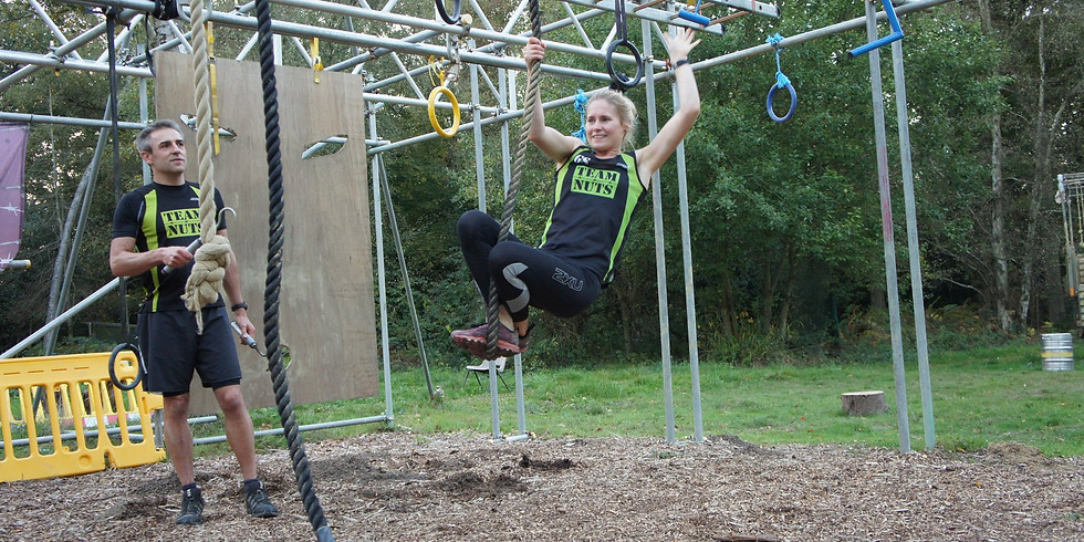 Obstacle Pay and Play at the Nuts Challenge Course