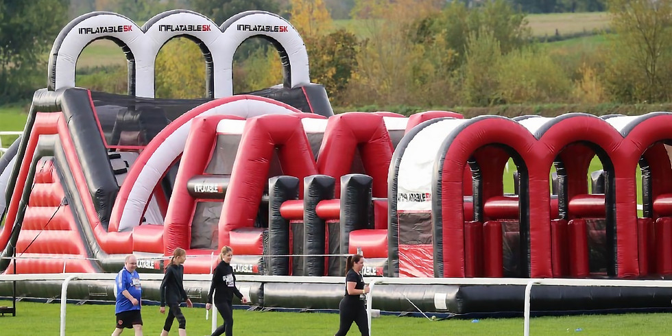Inflatable 5km Farnborough