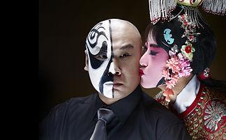 Chinese Opera Kiss