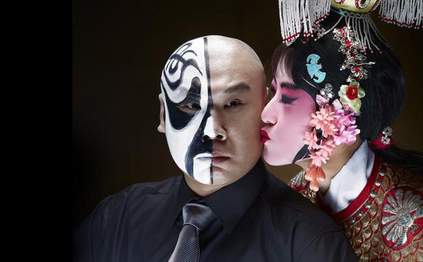 Chinesische Oper Kuss