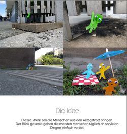 Installation Griesmännchen