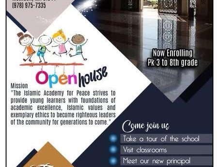 TIA OPEN HOUSE on Sep 3rd 1:30pm