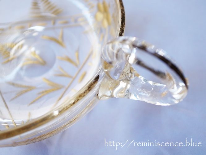 Victorian Glass Tastevin