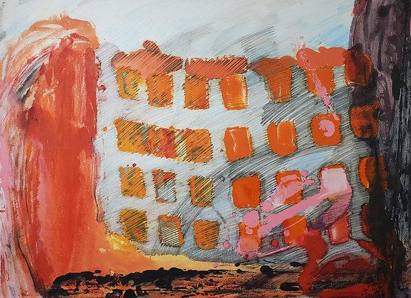 Daydream Landscape by Aaron Broadbent