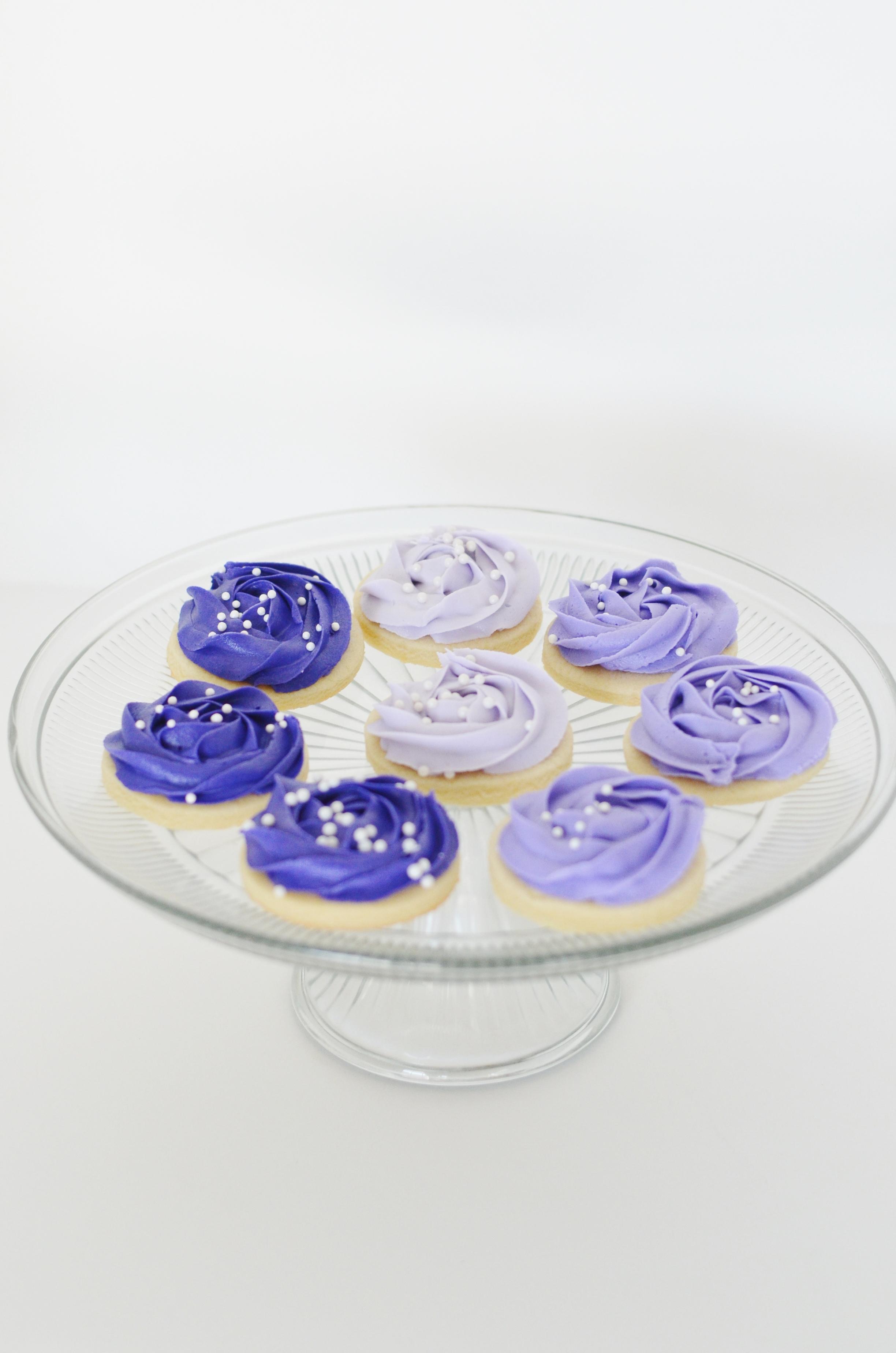 Ombre cookies