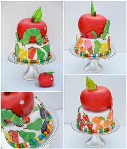 Hungry Caterpillar and matching Smash cake