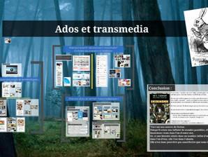 """Présentation """"ados & transmédia"""" pour la BDP de l'Essonne"""
