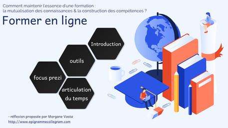 [Présentation à distance pour l'Association des archivistes français] sur la transmission en ligne